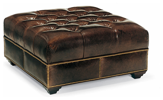 Campaign Cocktail Ottoman traditional-footstools-and-ottomans