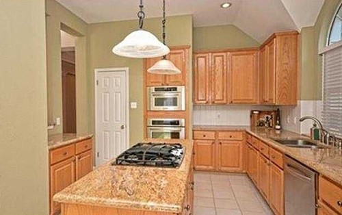 What Color To Paint Cabinets And Walls For Tan Granite
