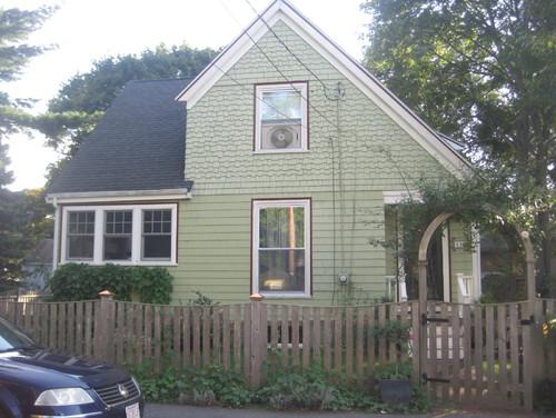 husband refuses to help me choose exterior paint color. Black Bedroom Furniture Sets. Home Design Ideas
