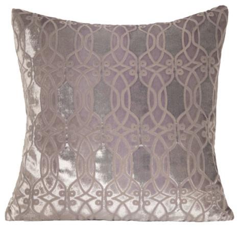 Links Velvet Pillow modern-decorative-pillows