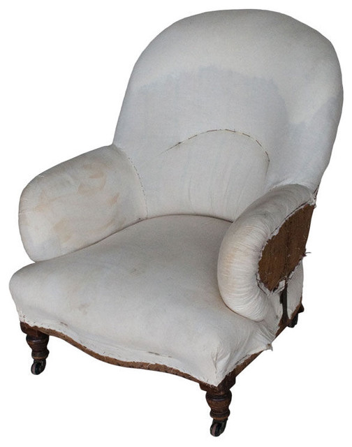 Antique French Tub Chair furniture