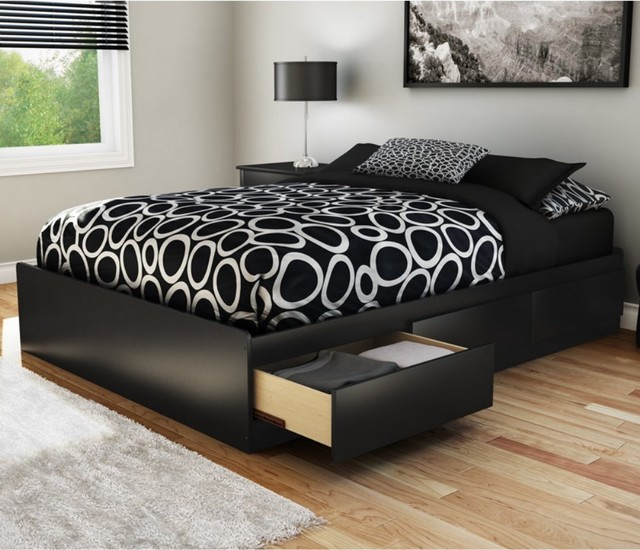 Permalink to plans for queen platform bed with drawers