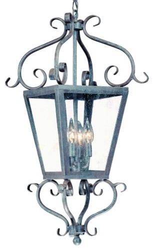 Vineyard Hill Suspension Lantern modern-outdoor-lighting