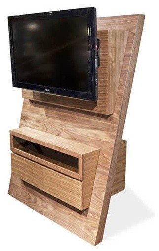 Armen Living - Aspen Tv Stand Espresso Color - LCASTVES traditional-entertainment-centers-and-tv-stands