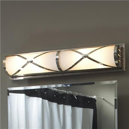 Grand Hotel Bath Light - Contemporary - Bathroom Vanity Lighting - by Shades of Light