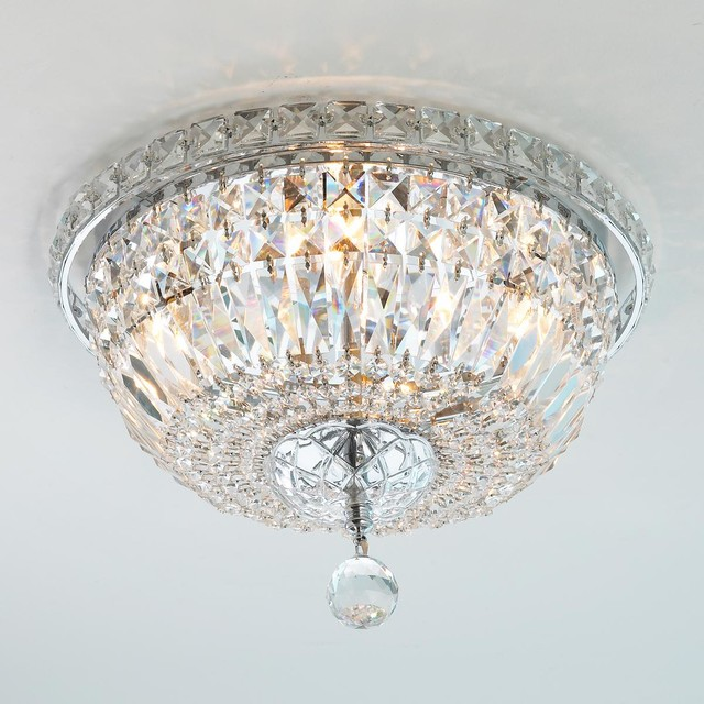small crystal basket ceiling light flush mount ceiling