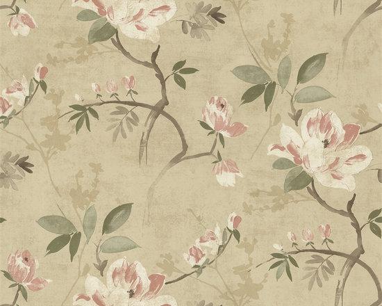 Bainbridge Watercolor Blossom Wallpaper - Bainbridge Wallpaper Collection from AmericanBlinds.com