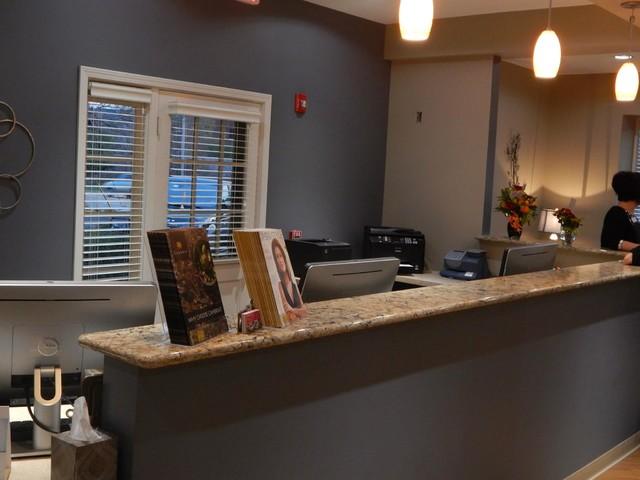 Arlington Heights Dental Office Transitional Kitchen