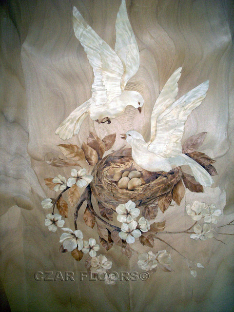 Marquetry  artwork