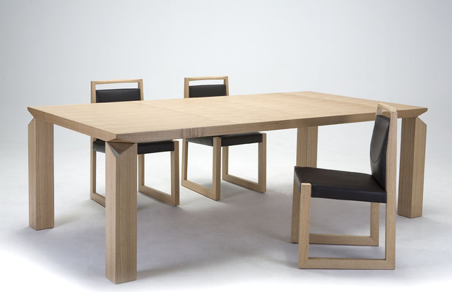 FORTUNE DINING TABLE Modern Dining Tables Other Metro By