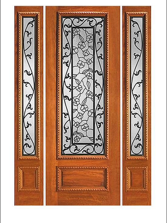 IR Iron Insulated Entry Doors Model  # 744 -