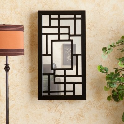 Krista Wall Mount Jewelry Mirror modern-bathroom-mirrors