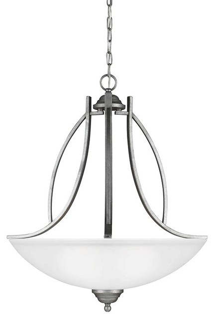 Sea Gull Lighting-6631403-57-Vitelli - Three Light Pendant contemporary-pendant-lighting