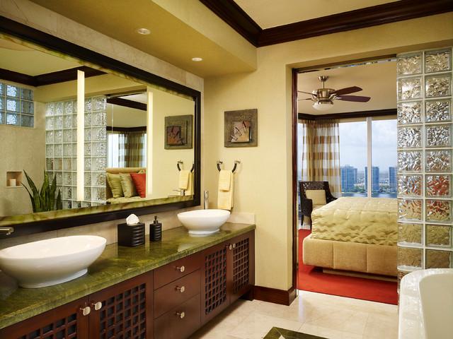 Private Residence 13 contemporary-bathroom
