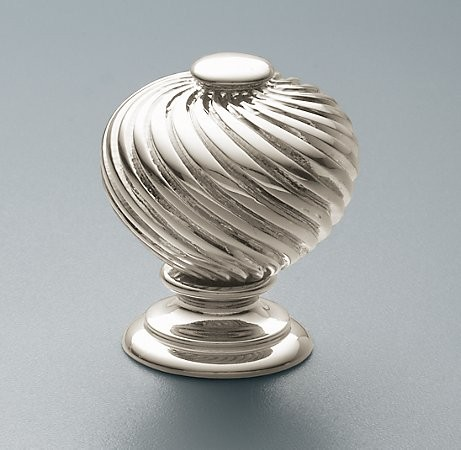 Pirouette Knob traditional-knobs