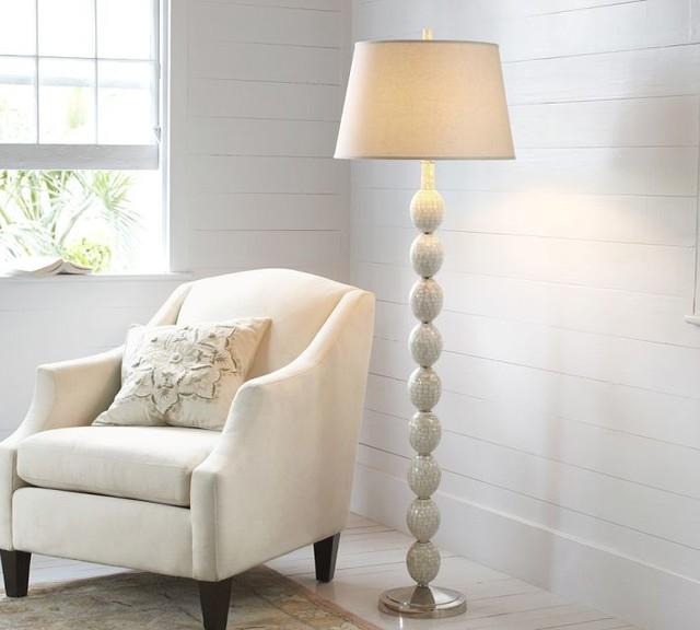Jolie Mother-of-pearl Floor Lamp Base