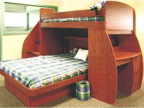 Woodwork L Shaped Twin Over Full Bunk Bed Plans PDF Plans