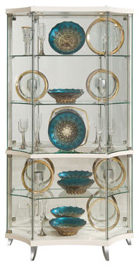 Bernhardt Devin Curio Cabinet traditional-storage-units-and-cabinets