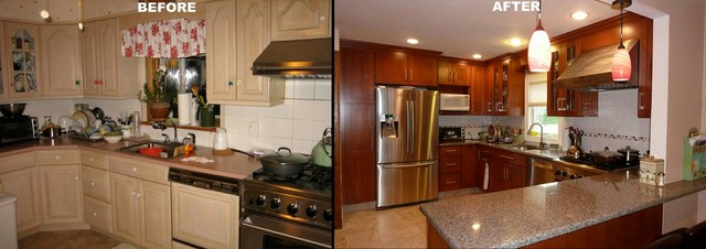 Before and After Kitchens traditional