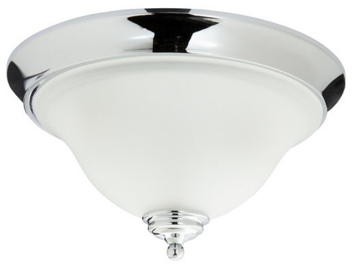 Decorative Star Ceiling Light Semi Flush Bathroom Fixture: Mirabelle MIRSAFMLGT St. Augustine 2-Light Flush-Mount