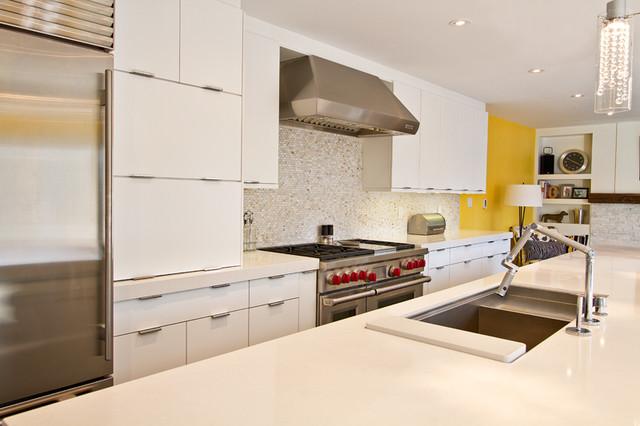 Manhattan Oyster modern-kitchen-cabinetry