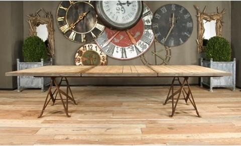 BoBo Intriguing Objects Brickmakers Dining Table traditional-dining-tables
