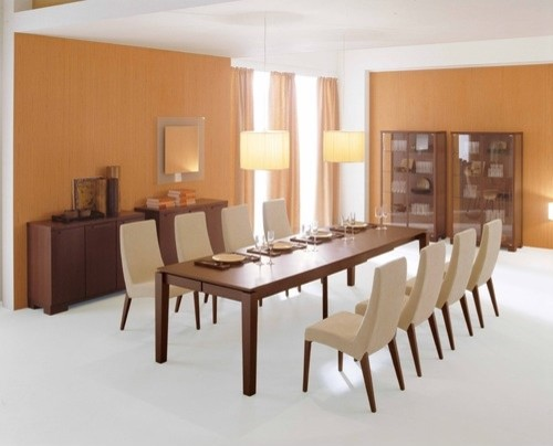 Master Extendable Dining Table Modern Dining Tables By AllModern