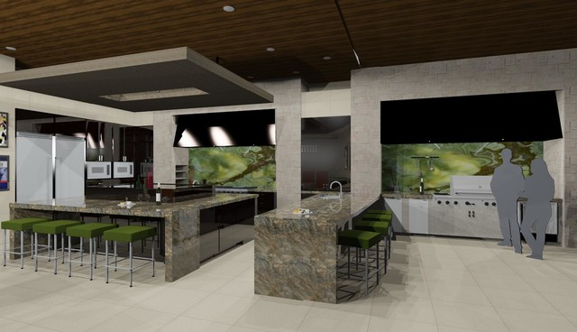 Hillcrest contemporary-rendering