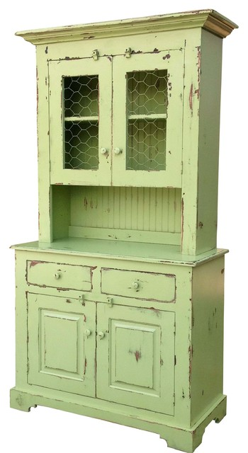 Waldo Hutch and Buffet - Farmhouse - China Cabinets And Hutches - by ...