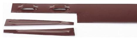 col met 14 gauge brown steel landscape edging