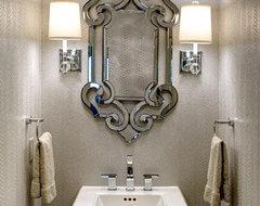 Design Connection Inc Bathrooms | Kansas City Interior Design contemporary-bathroom