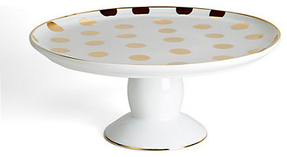 polka dot cake stand gold contemporary dessert and