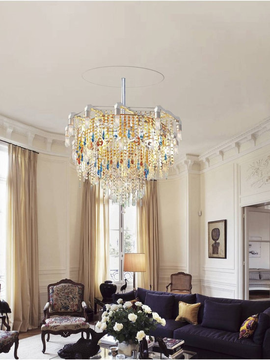 Michael McHale Designs - Bryce Collection Claridge Chandelier - London, England