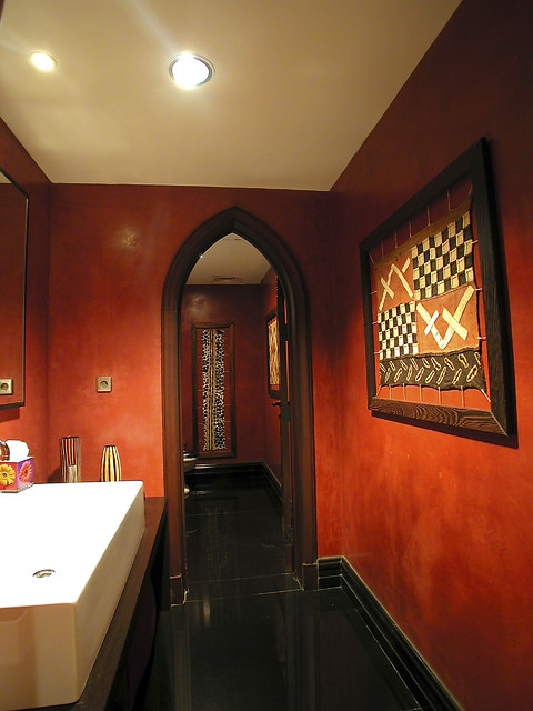 utopia projects mediterranean powder room
