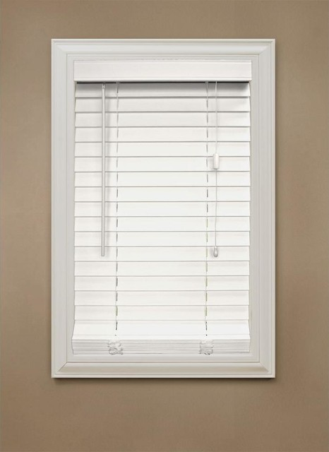 home decorators collection white 2 inch faux wood blind