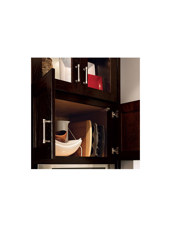 Oven Cabinet - The base oven cabinet provides easier access to the oven.