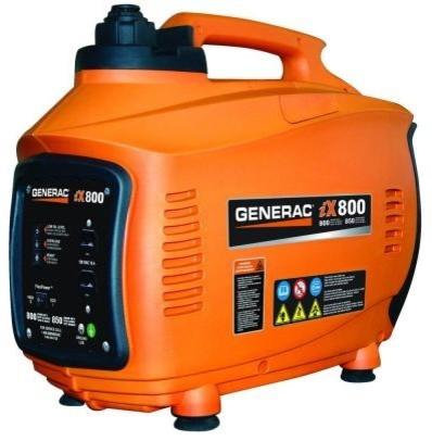 Portable Generator: Generac. iX 800-Watt Gasoline Powered 5791 contemporary-cable-management