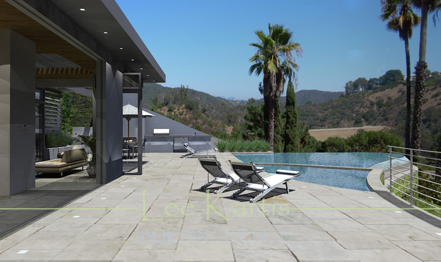 Bel-Air Stone Canyon contemporary