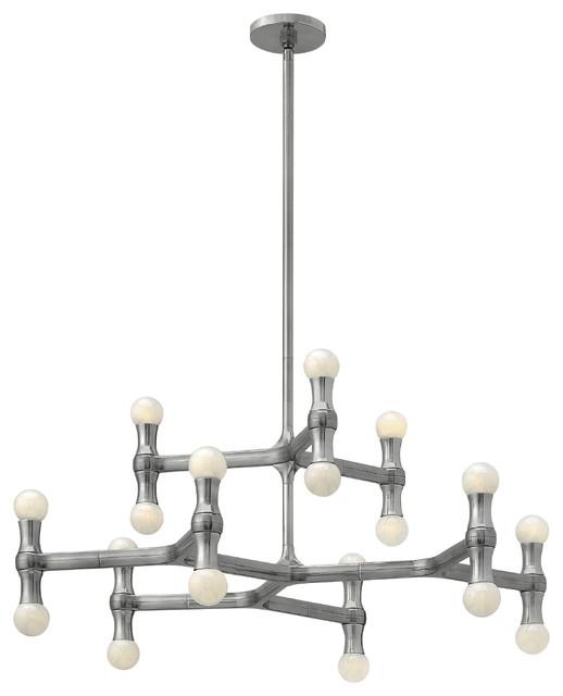 Fredrick Ramond Karma 18-Light Chandelier contemporary-chandeliers