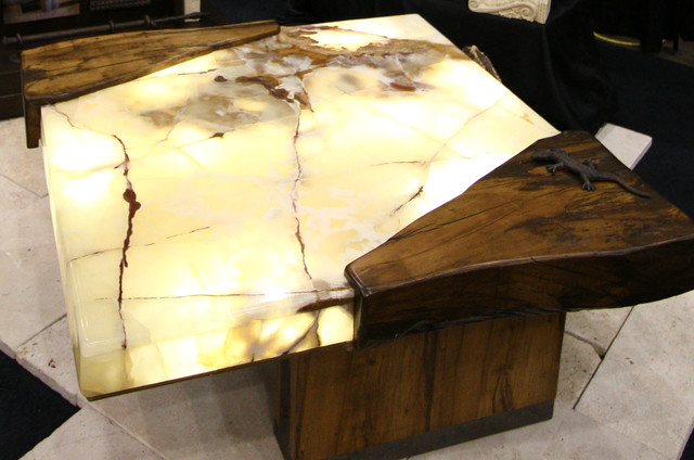 lit onyx coffee table eclectic coffee tables cleveland by architectural justice. Black Bedroom Furniture Sets. Home Design Ideas