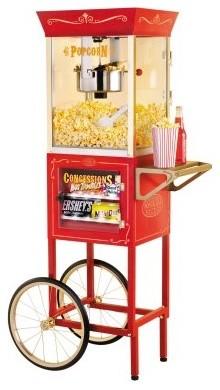 Nostalgia Electrics CCP-610 Vintage Collection Popcorn Cart modern-small-kitchen-appliances