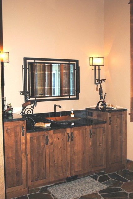 Pretty in Purdy rustic-bathroom-vanities-and-sink-consoles