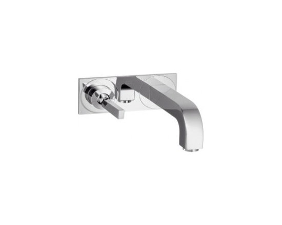 Hansgrohe Axor Citterio Wall-Mounted Single-Handle Faucet Trim w/Base Plate 391 - Ceramic cartridge