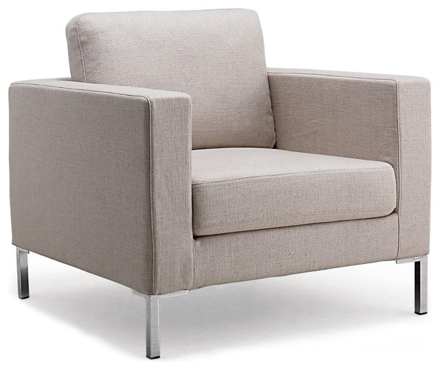 Portobello armchair contemporary armchairs and accent for Modern armchair
