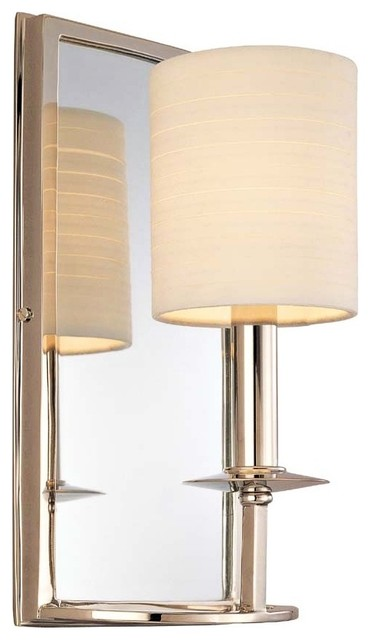 Wall Sconces With Mirrors : Winthrop Collection Single Light Mirror Wall Sconce - Contemporary - Wall Sconces - by Lighting ...