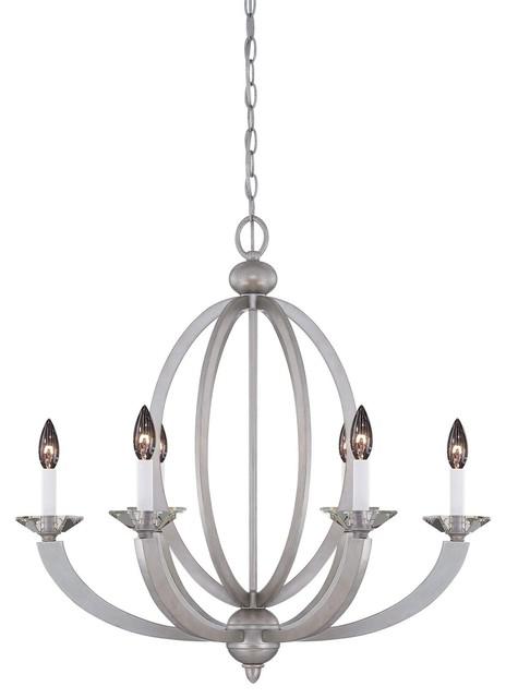 Forum 6-Light Chandelier modern-chandeliers