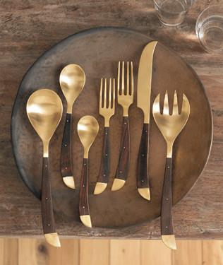 Roost Safari Flatware eclectic-flatware-and-silverware-sets