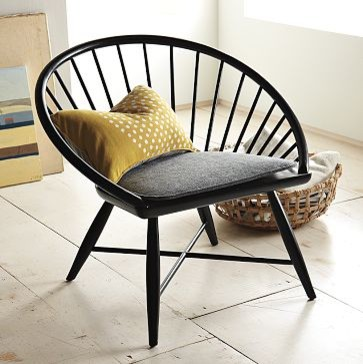 Modern Windsor Accent Chair | west elm contemporary-chairs
