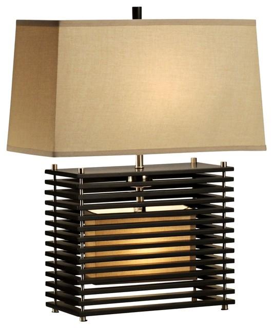 nova kimora reclining modern night light table lamp asian table lamps. Black Bedroom Furniture Sets. Home Design Ideas