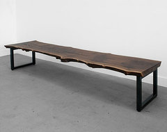 Standard Base Slab Bench contemporary benches
